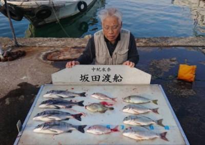 坂田渡船の2018年11月21日(水)1枚目の写真