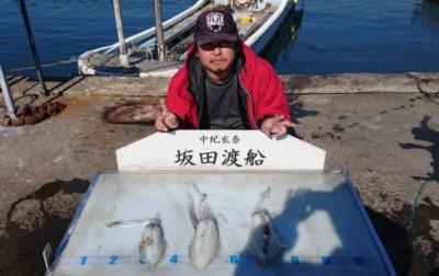 坂田渡船の2018年11月25日(日)2枚目の写真