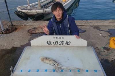 坂田渡船の2018年11月27日(火)4枚目の写真