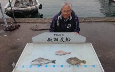 坂田渡船の2018年11月28日(水)1枚目の写真
