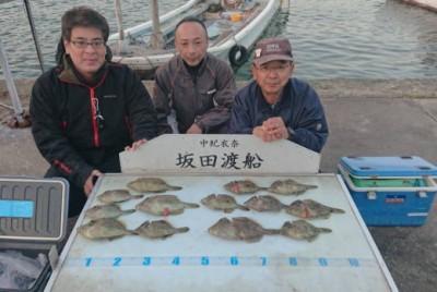 坂田渡船の2018年11月29日(木)1枚目の写真