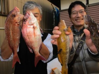 奥村釣船の2018年12月5日(水)2枚目の写真