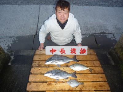 中長渡船の2018年12月8日(土)1枚目の写真