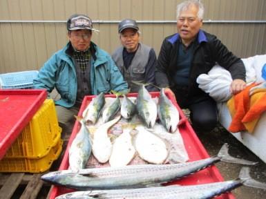 奥村釣船の2018年12月12日(水)3枚目の写真