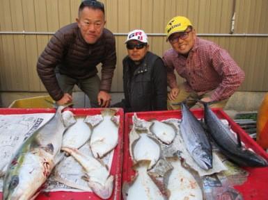 奥村釣船の2018年12月13日(木)4枚目の写真