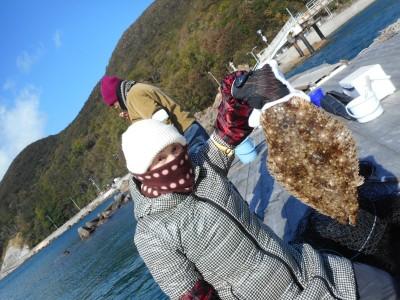 由良海つり公園&釣堀ランドの2018年12月15日(土)1枚目の写真