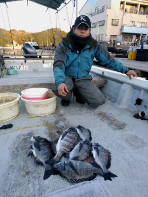 永田渡船の2018年12月18日(火)2枚目の写真