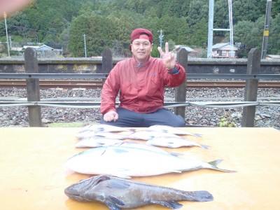 海上釣り堀 天海の2018年12月22日(土)3枚目の写真