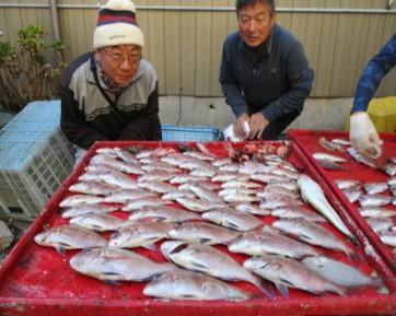 奥村釣船の2018年12月25日(火)1枚目の写真
