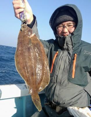 佐々木釣具店 平進丸の2019年1月5日(土)1枚目の写真