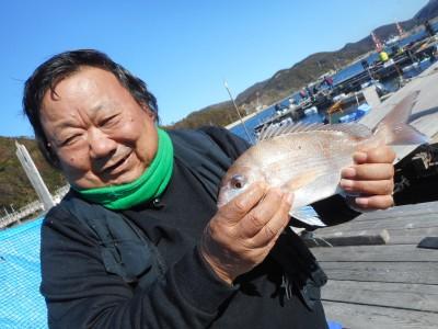 由良海つり公園&釣堀ランドの2019年1月4日(金)1枚目の写真