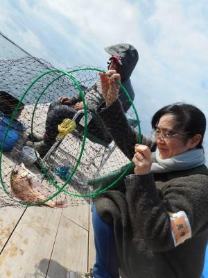 由良海つり公園&釣堀ランドの2019年1月6日(日)1枚目の写真