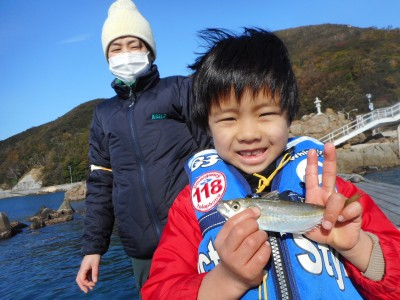 由良海つり公園&釣堀ランドの2019年1月7日(月)1枚目の写真