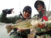 俺たちのバズは大分県 日指ダムで釣りました