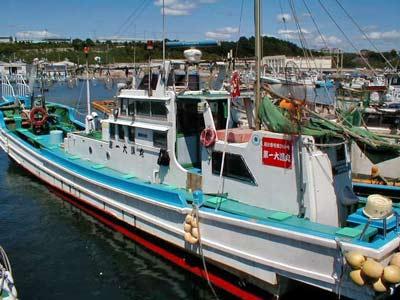 第一大漁丸の船と店の写真