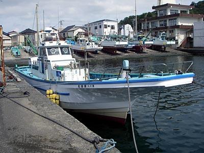 新盛丸の船と店の写真