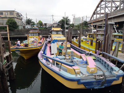 船宿「川崎つり幸」