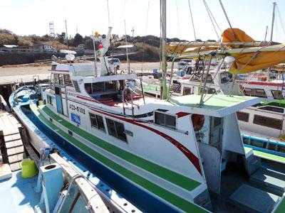 赤羽根港『丸万釣船』