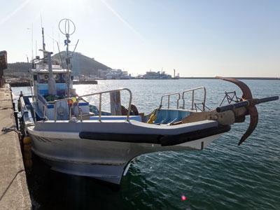 釣り船 秀進丸の船と店の写真