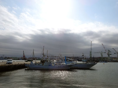 塩釜港『えびす屋釣具店・えびす屋丸』