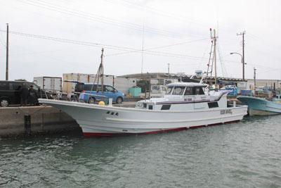 勇盛丸の船と店の写真