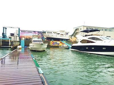 名古屋港のガイド船『ベイフリー』