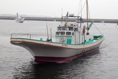 深田家の船と店の写真