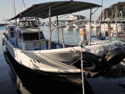 第二常豊丸の船と店の写真