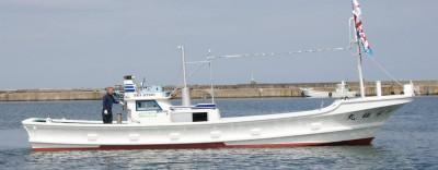 第一栄福丸の船と店の写真