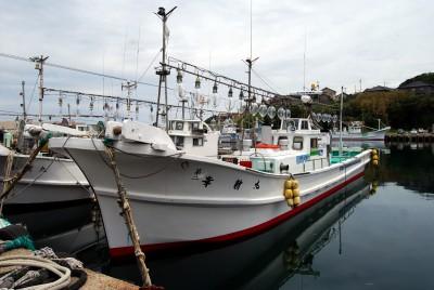 第二 幸新丸の船と店の写真