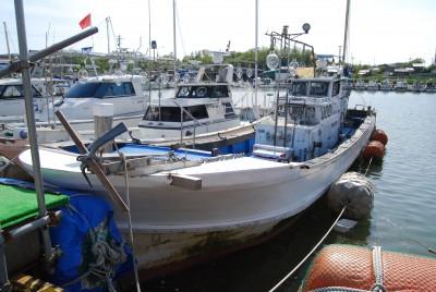 海龍丸の船と店の写真