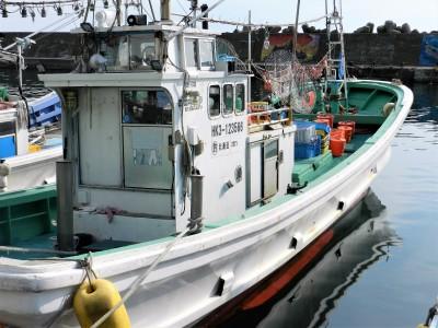 第十八 千漁丸の船と店の写真
