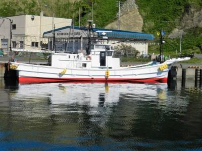 第五十八 明見丸の船と店の写真