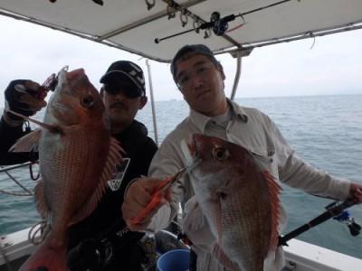 魚つり写真